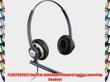 PLANTRONICS hw301n wideband binaural noise canceling headset