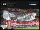Independiente vs Argentinos ~ Bandera rota ~  [QUE BOLUDO SOS ROJO PUTO] [akd_cjs]