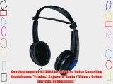 Kensingtonputer K33084 Kensington Noise Canceling Headphones Product Category: Audio / Video