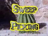 Mario Ortega Como hacer Sweep Picking Clases de guitarra eléctrica