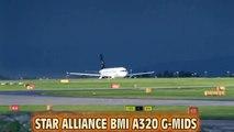 ANTONOV AN-124 LANDING  @ MANCHESTER AIRPORT
