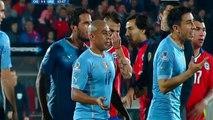 Edinson Cavani Red Card Tarjeta Roja Chili 0-0 Uruguay Copa America