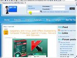 Protect your computer from Viruses, Malware and Spyware with Kaspersky Anti-Virus 2009