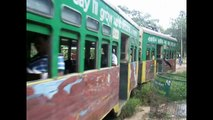 City Trains in Calcutta, India - Calcutta Trams