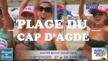 CAP D'AGDE - 2015 - MASTER BEACH VOLLEY du CAP D'AGDE 2015