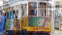 Lisboa : por Eléctrico em Lisboa - luci e suoni sul tram 28 uno dei simboli di Lisbona