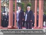مراسم استقبال العاهل الأردني الملك عبدالله الثاني