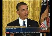 Pr. Obama Press Conf - Palestine Israel Peace - 'Abbas, Netanyahu must help each other'