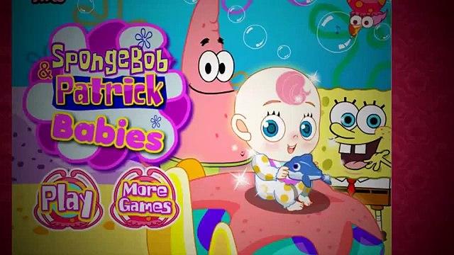 SpongeBob Patrick Babies ♥- Babies Games For Girls - SpongeBob SquarePants Games for Girls