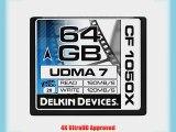 Delkin 64 GB CF 1050X UDMA 7 Cinema Memory Card (DDCF1050-64 GB)