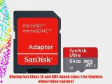 Professional Ultra SanDisk MicroSDXC 64GB (64 Gigabyte) Card for Microsoft Surface Windows