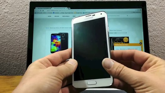 How to Unlock your Samsung Galaxy S5 by Unlock Code SIM Network Unlock PIN
