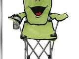 Check Kids Chair Camping Folding Garden Animal Beach Childrens Portable Seat Slide
