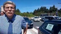 Avignon : les taxis organisent des barrages filtrants