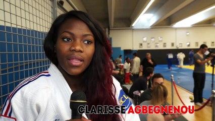 """Clarisse Agbegnenou : """"Tout gagner jusqu'aux Jeux Olympiques"""""""
