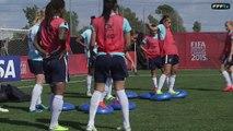 Coupe du Monde Féminine : Entraînement... au québécois !