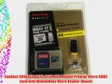 SanDisk SDSDQ2R-8192-A11M 8GB Mobile Premier Micro SDHC Card with MobileMate Micro Reader (Black)