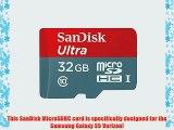Professional Ultra SanDisk 32GB MicroSDHC Samsung Galaxy S5 Verizon card is custom formatted