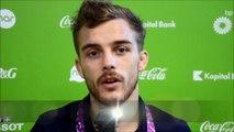 Réactions de Vincent Limare suite à son élimination aux championnats d'Europe à Baku