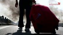 Grève des taxis: vives tensions à Roissy et galère pour les usagers