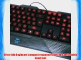 AULA Dragon Tooth 3 Color Backlit LED Illuminated Professionally Computer Wired Cyber Gaming