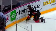 Corey Perry Leaves his feet to hit Alexander Edler and Misses Jan 25 2013