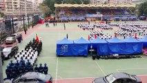 香港升旗隊總會20140301(沙咀道 /解放軍)Association of Hong Kong Flag-guards