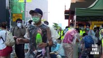 OCCUPY CENTRAL HONG KONG - Tear Gas, Riot Police and Chaos on the Streets of Hong Kong
