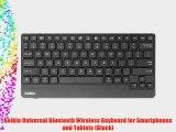 Belkin Universal Bluetooth Wireless Keyboard for Smartphones and Tablets (Black)