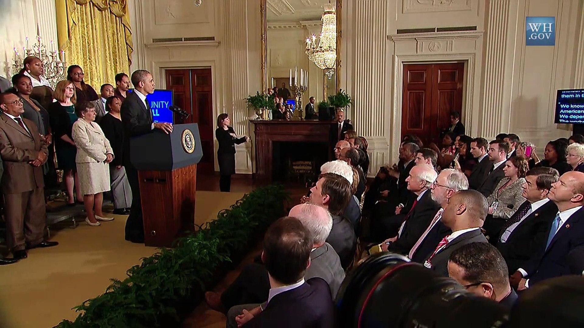 President Obama Speaks on Raising the Minimum Wage
