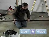 Garage Doors: Learn How to Install Electrical Garage Doors: Free Online Lessons : Attach Rail to Head: Electric Garage Door Installation: Free Online Video Lesson