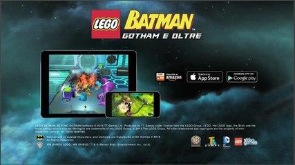 Lego Bartman Gotham e Oltre il gioco per iPhone iPad e Android- AVRMagazine.com
