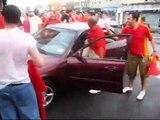 Eurocopa 2008: Celebración victoria de España en Nueva York