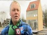 Draaiend huis op rotonde Tilburg