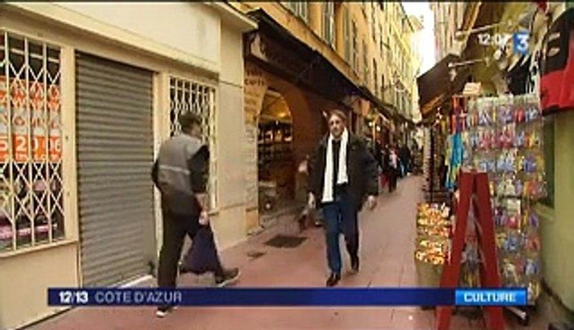 Reportage France 3 Côte d'Azur, 15 janvier 2015, Patrick Lecointe, auteur de romans d'espionnage et polars.