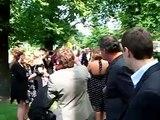 Hochzeit Doris und Markus Einzug in die Kirche Fintel