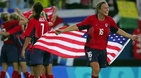 USA Women's World Cup: Abby last run