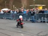 Stunt pocket bike