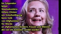 Hillary Clinton   Eiskalte Lügnerin und das pure böse!