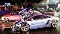 Incidente della Lamborghini della Polizia stradale