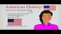 Watch Cartoons Online: United States Flag: Educational Video for Students/Children: American Histor