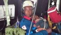 Kolumbien: 18-Jährige und ihr Baby nach Flugzeugabsturz aus dem Dschungel gerettet