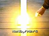 Super Flash Powder Tests: NaNO3/Mg, NaNO3/Mg/S, NaNO3/Mg/ferrocerium