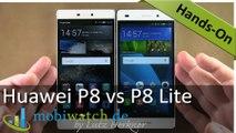 Huawei P8 Lite: Vergleich mit dem P8, erste Testergebnisse