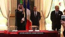L'Arabie Saoudite signe pour 11 milliards d'euros de contrats avec la France