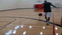 "10 feet hoop 6'0"" Nate 6'3"" Rich...dunking at uwo rec center...with miss attempts"
