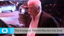 The Avengers' Patrick Macnee Has Died