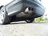 SOUND EXHAUST BMW e36 2.0 M50 2x80 mm