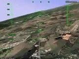 Santa Maria - RS Google Earth Pouso na BASM