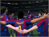 Liga dos Campeões  com Barcelona campeão da liga PES 2010